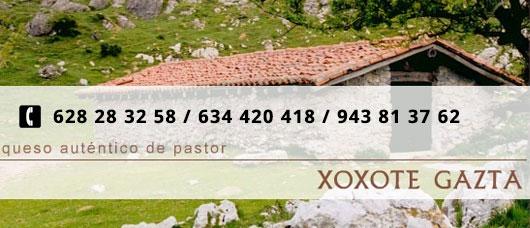 Queso auténtico de pastor, XOXOTE GAZTA